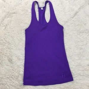 Under Armour Racerback Purple Fitted Tank top